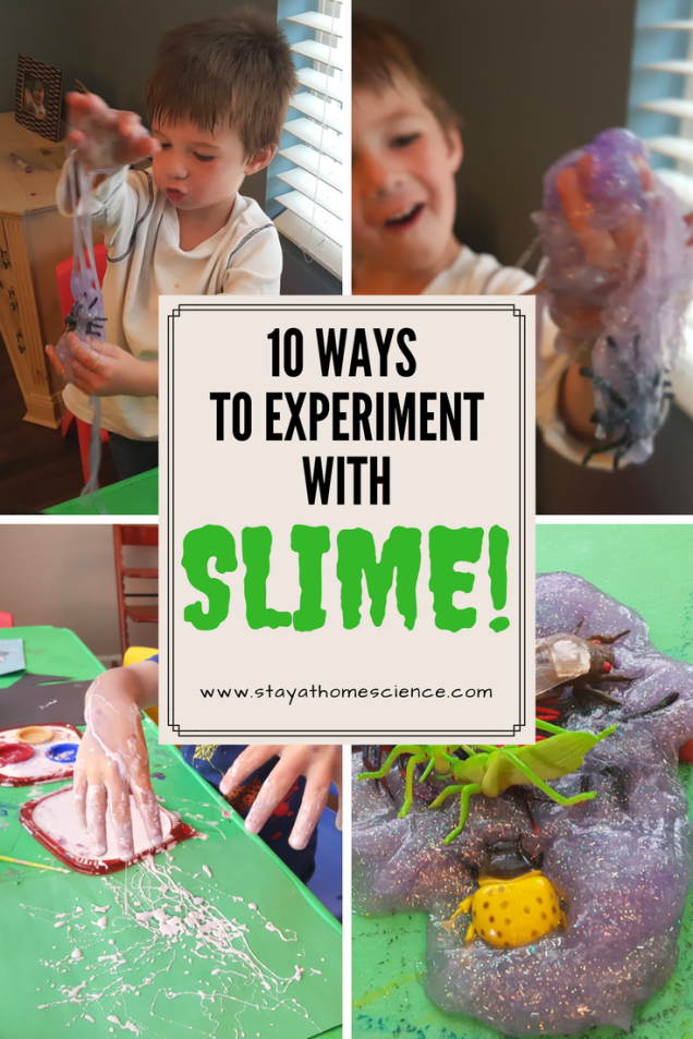 10 ways to experiment with slime